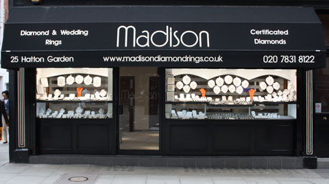 Madison Jewellers 25 Hatton Garden London
