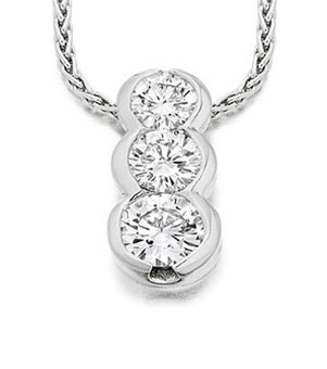 Diamond pendant 6
