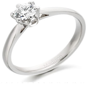Classic Six Claw Engagement Ring