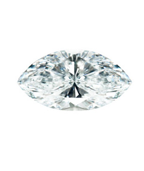Marquise Brilliant cut diamond
