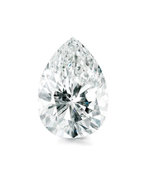 Pear Brilliant cut diamond
