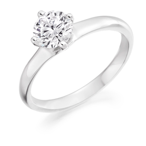 Round Brilliant Cut Engagement Ring