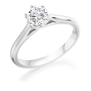 Diamond Single Stone Rings