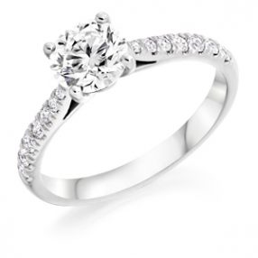 Wedfit Engagement Ring